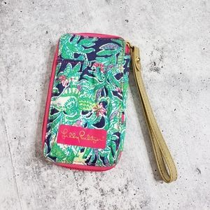 Lilly Pulitzer Trunk Show Print Carded ID Wristlet
